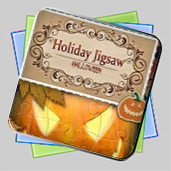 Holiday Jigsaw: Halloween игра