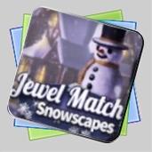 Jewel Match: Snowscapes игра