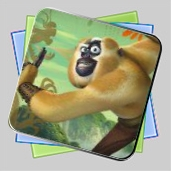 Kung Fu Panda 2 Monkey Run игра