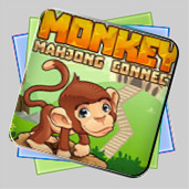 Monkey Mahjong Connect игра