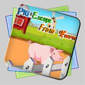 Pig Escape From Farm игра