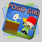 PoGo Stick Girl! игра