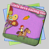 Pony  Adventure. Girl With Album игра