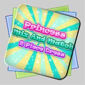 Princess Mix and Match 2 Piece Dress игра