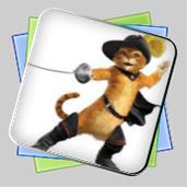 Кот в сапогах: Игра-раскраска игра