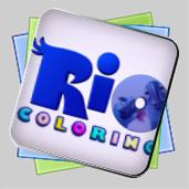 Рио: игра-раскраска игра