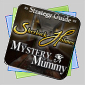 Sherlock Holmes: The Mystery of the Mummy Strategy Guide игра