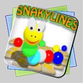Snakylines игра