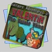 Solitaire Adventures of Valentin The Valiant Viking игра