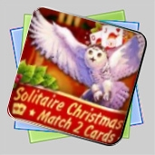 Solitaire Christmas Match 2 Cards игра