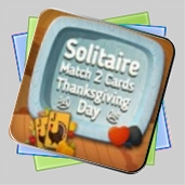 Solitaire Match 2 Cards Thanksgiving Day игра