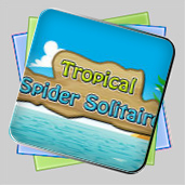 Tropical Spider Solitaire игра