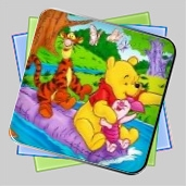 Winnie, Tigger and Piglet: Colormath Game игра