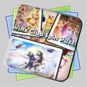 Winx Club Spin Puzzle игра