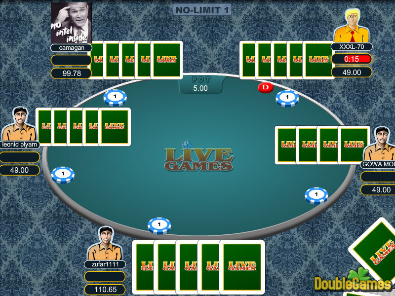 Free Download 5 Card Draw Poker Screenshot 3