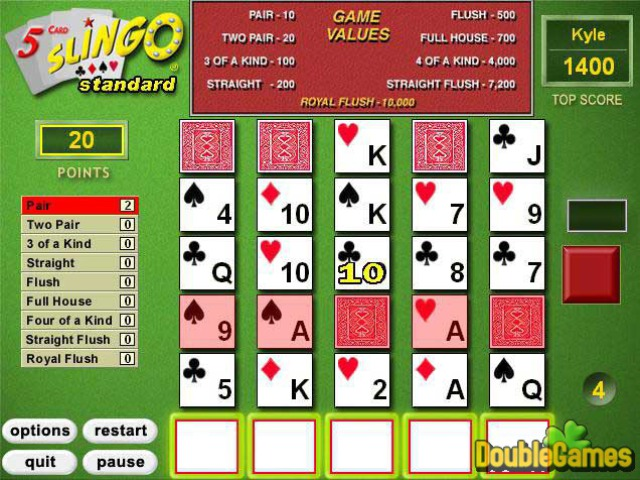 Free Download 5 Card Slingo Screenshot 1