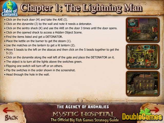 Free Download The Agency of Anomalies: Mystic Hospital Strategy Guide Screenshot 1