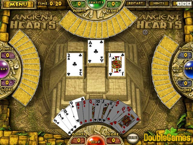 Free Download Ancient Hearts and Spades Screenshot 1