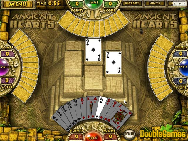 Free Download Ancient Hearts and Spades Screenshot 3
