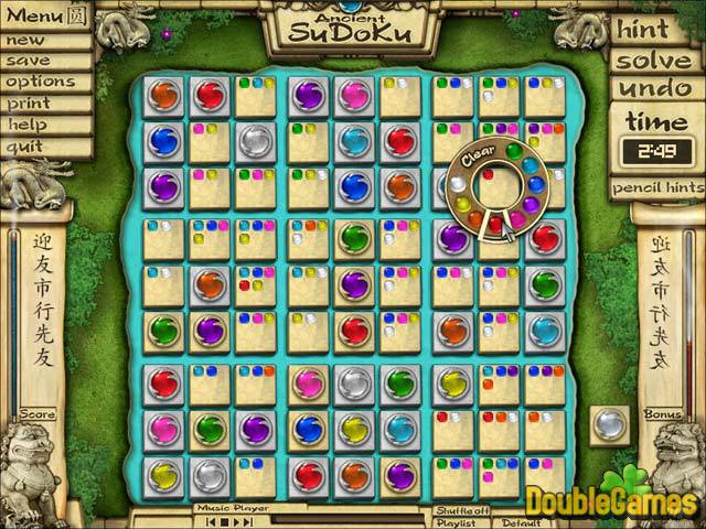 Free Download Ancient Sudoku Screenshot 1