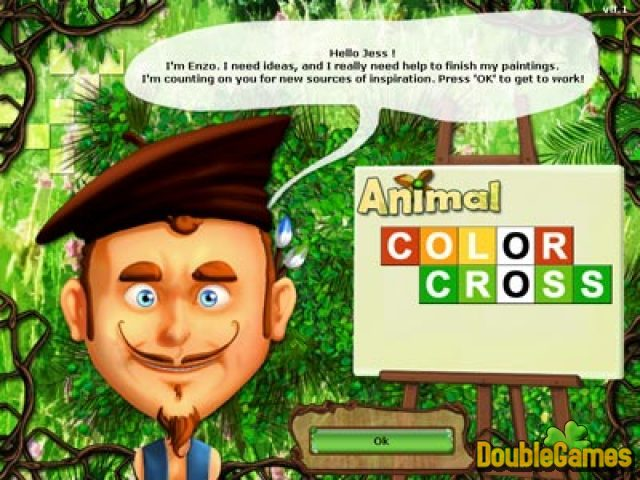 Free Download Animal Color Cross Screenshot 3