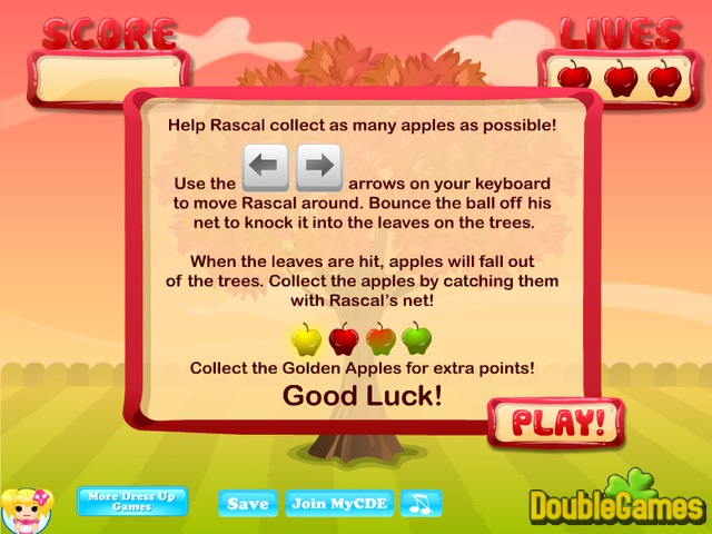 Free Download Rascal's Apple Panic Screenshot 1