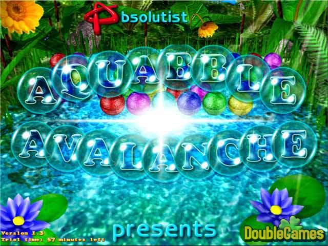 Free Download Aquabble Avalanche Screenshot 1