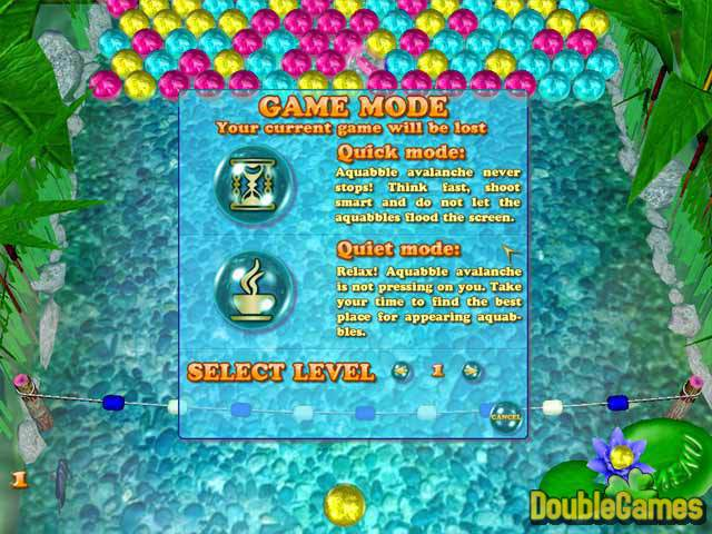 Free Download Aquabble Avalanche Screenshot 3