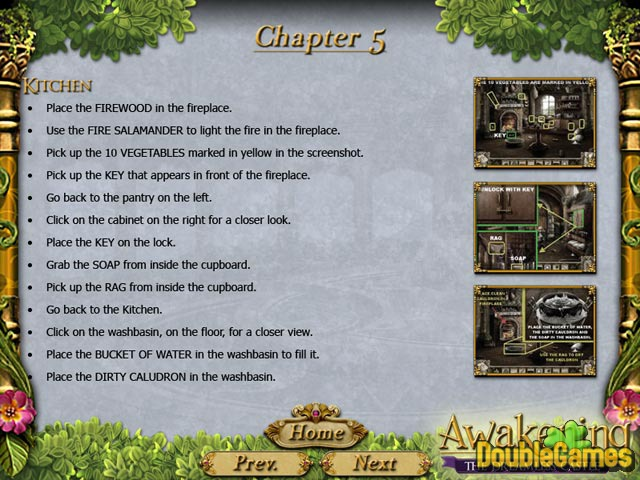 Free Download Awakening: The Dreamless Castle Strategy Guide Screenshot 1