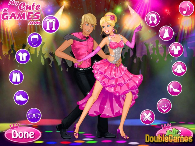 Free Download Barbie Dance Party Screenshot 1