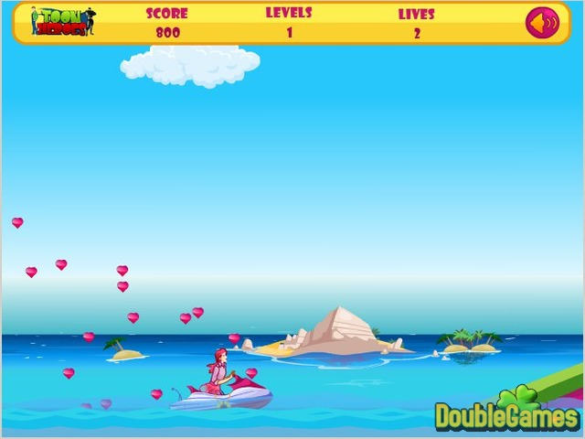 Free Download Barbie Fun Ski Screenshot 2