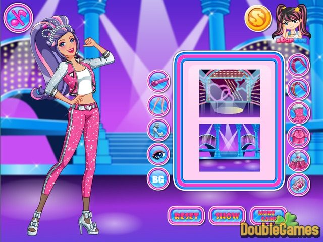 Free Download Barbie Rock and Royals Style Screenshot 2