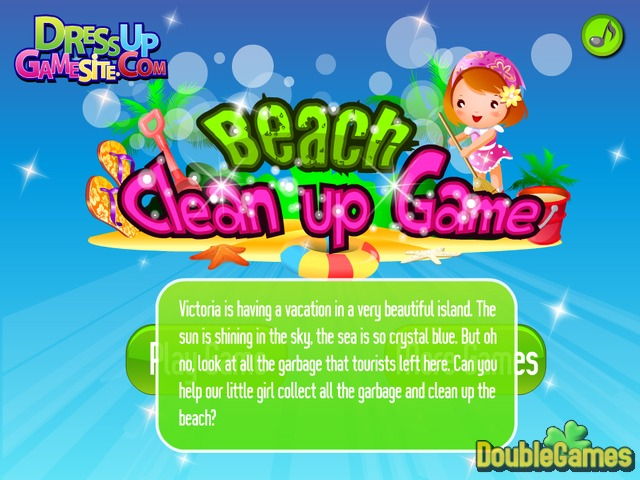 Free Download Beach Clean Up Game Screenshot 1