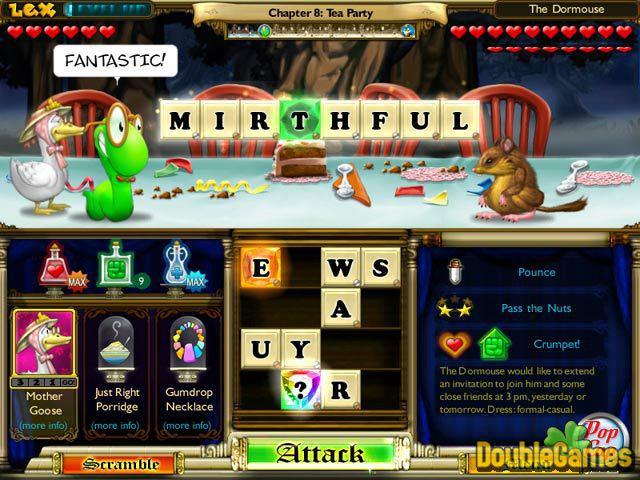 Free Download Bookworm Adventures: Fractured Fairytales Screenshot 1