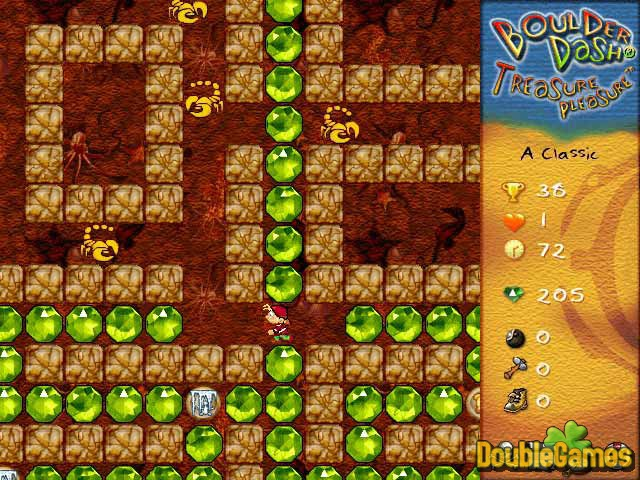 Free Download Boulder Dash Treasure Pleasure Screenshot 3