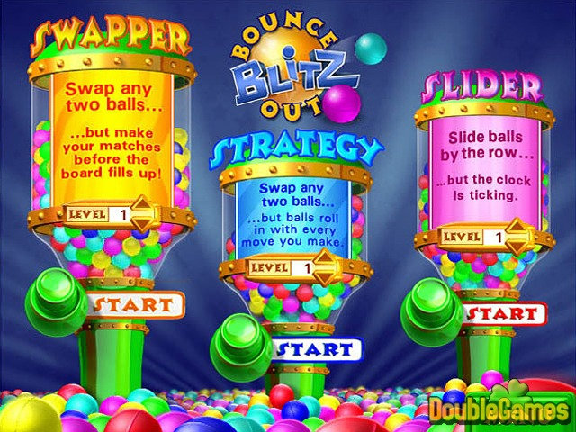 Free Download Bounce Out Blitz Screenshot 1