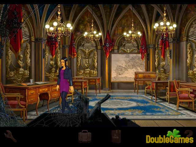 Скачать бесплатно Broken Sword: The Shadow of the Templars скриншот 1