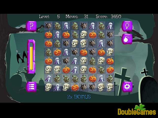 Free Download Bubble Double Halloween Screenshot 1