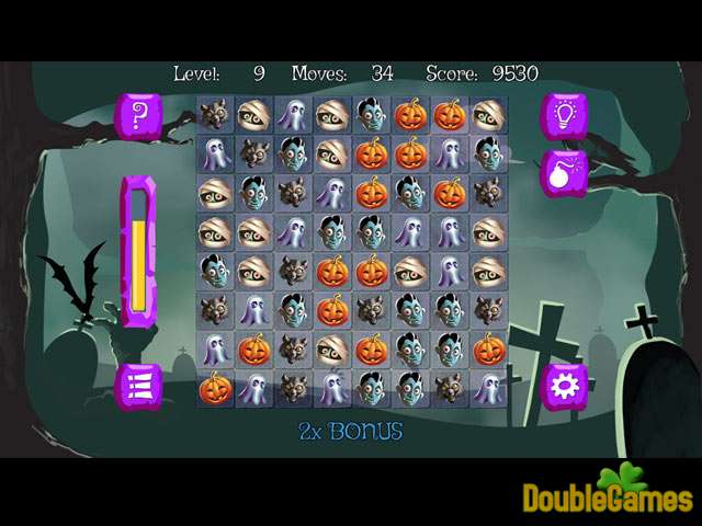 Free Download Bubble Double Halloween Screenshot 2