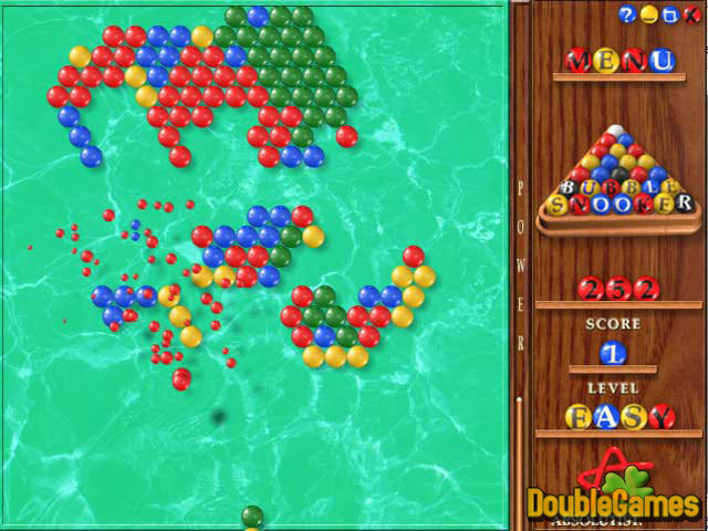 Free Download Bubble Snooker Screenshot 1