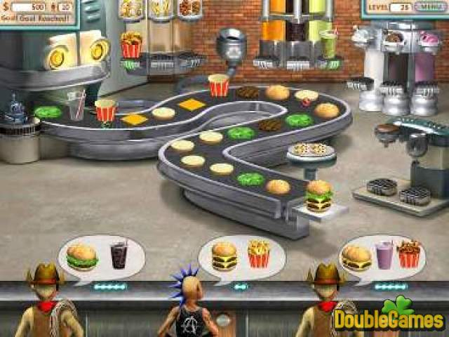 Free Download Burger Shop Double Pack Screenshot 1