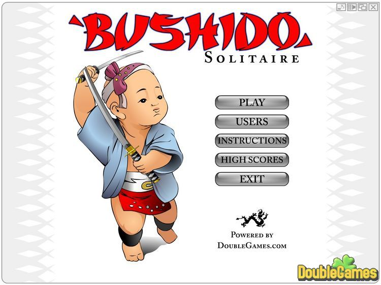 Free Download Bushido Solitaire Screenshot 1