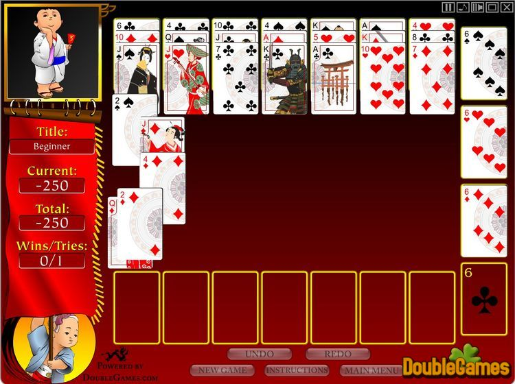 Free Download Bushido Solitaire Screenshot 3
