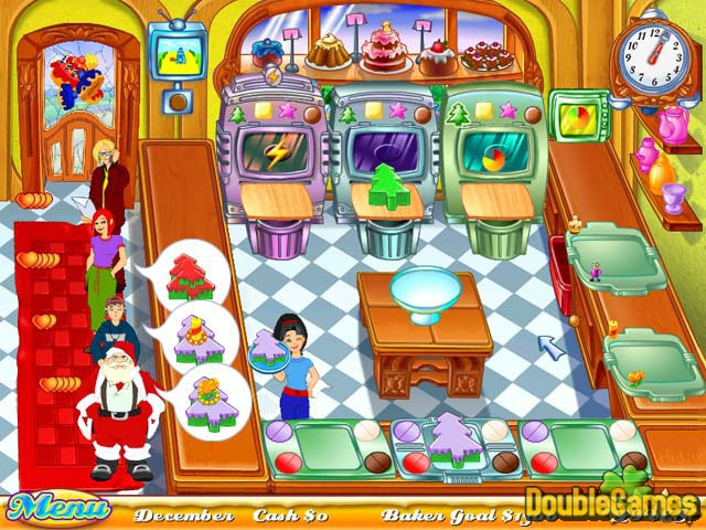 Free Download Cake Mania: Back to the Bakery Screenshot 1
