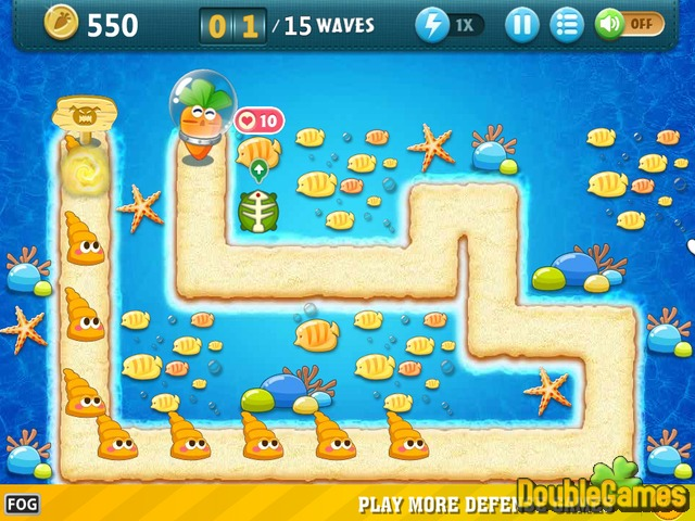 Free Download Carrot Fantasy 2. Undersea Screenshot 3