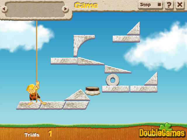 Free Download Caveman Physics Screenshot 2