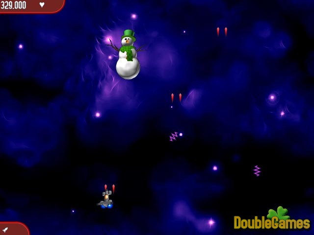 Free Download Chicken Invaders 2 Christmas Edition Screenshot 2