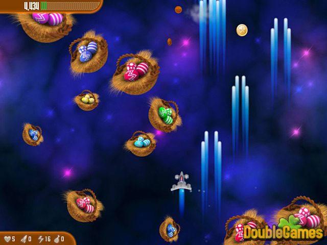 Free Download Chicken Invaders 3: Revenge of the Yolk Easter Edition Screenshot 1