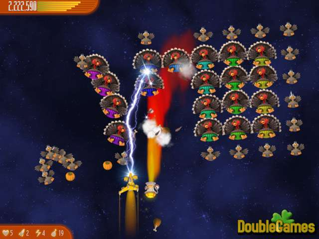 Free Download Chicken Invaders 4: Ultimate Omelette Thanksgiving Edition Screenshot 1