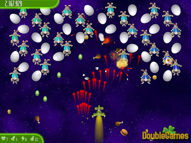 Free Download Chicken Invaders 4: Ultimate Omelette Easter Edition Screenshot 3